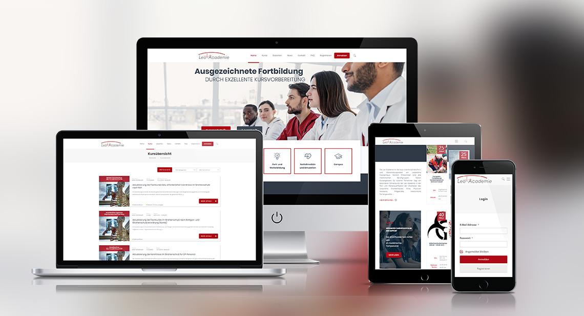 Webdesign und Softwareprogrammierung für Leopoldina von Divinci in Schweinfurt